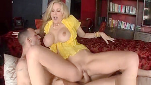Dazzling blonde MILF Julia Ann having an amazing hard core sex