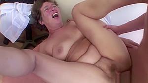 76yr Old Granny Anke Seduce To Fuck By 18yr Old Boy In Ass