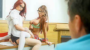 Are You Staring At Your Teacher's Tits