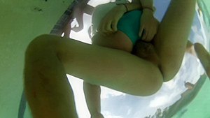 Hot Underwater Pool Sex Real Amateur South African Couple-