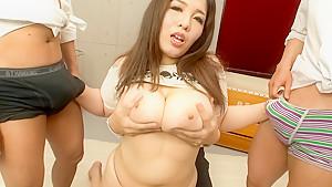 Best Japanese whore Yume Sazanami in Crazy JAV uncensored Cumshots video