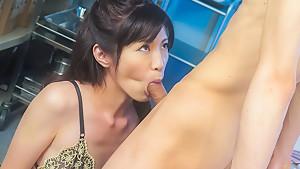 Incredible Japanese chick Sara Yurikawa in Exotic JAV uncensored MILFs movie