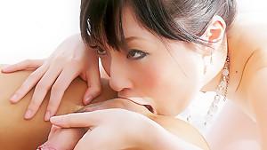 Fabulous Japanese slut Rika Sonohara in Incredible JAV uncensored Cumshots video