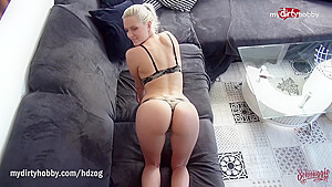 MyDirtyHobby - Fucking Schnuggies perfect ass anal compilation
