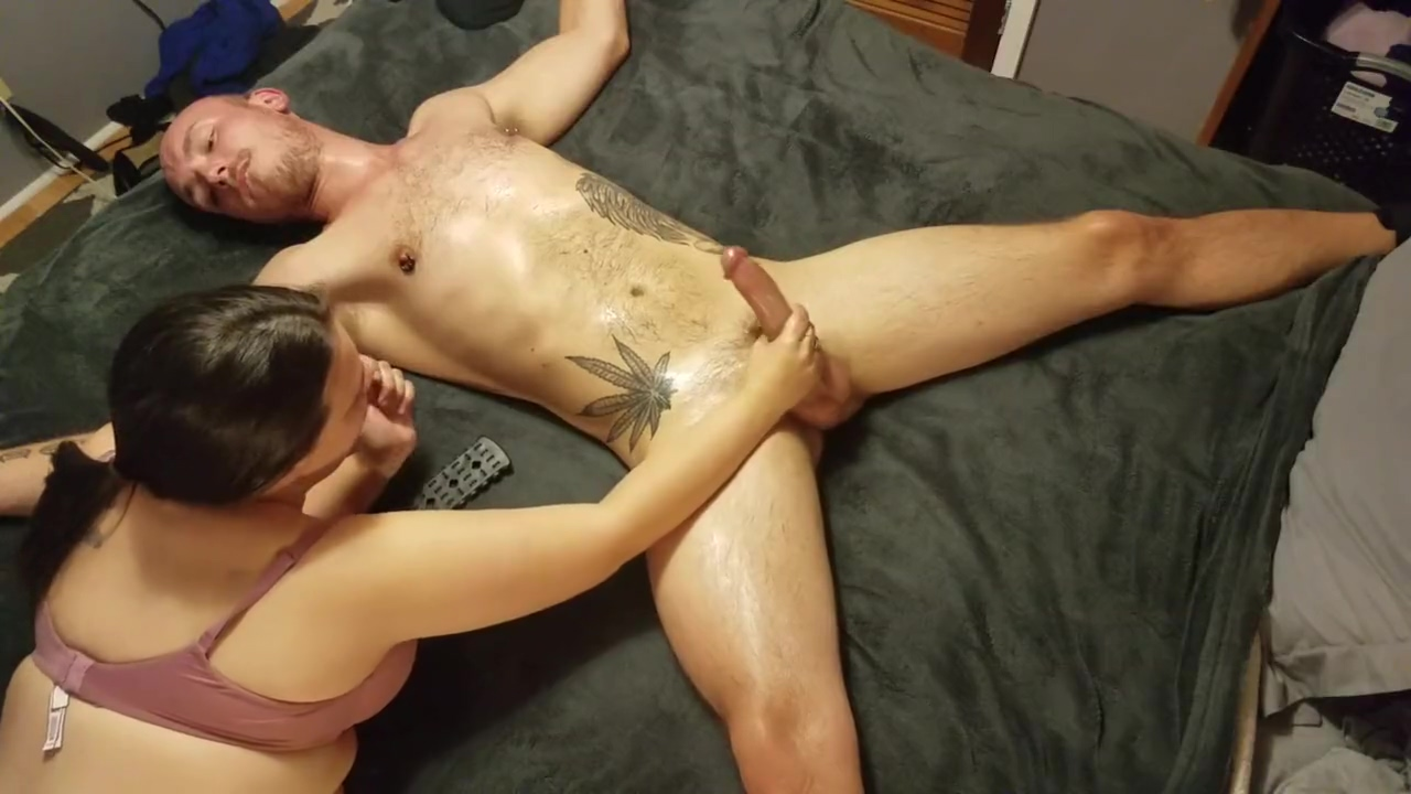 Horny Nicky makes me her submissive slut before letting me fuck her silly