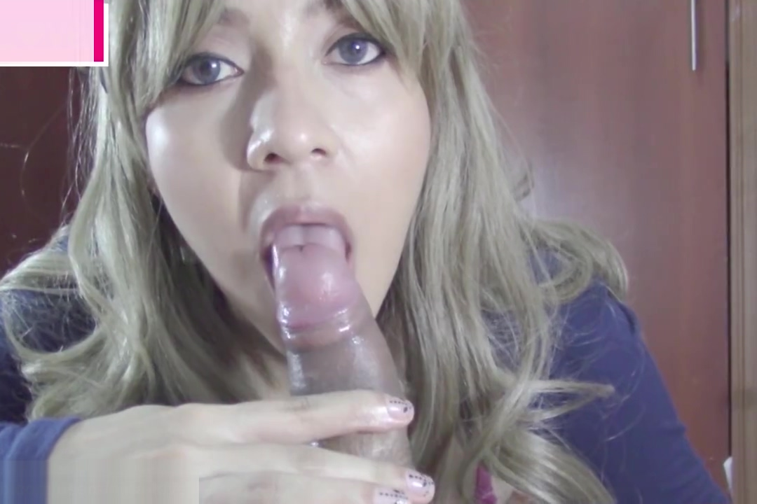Hot Blonde POV blowjob, cum play and swallow. wild you ass native amateur cougar