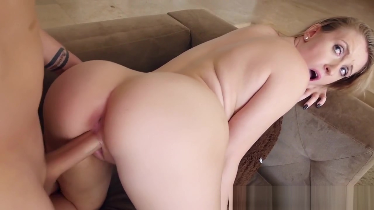 Perfect tits nanny blows Busty blond fucked in pussy