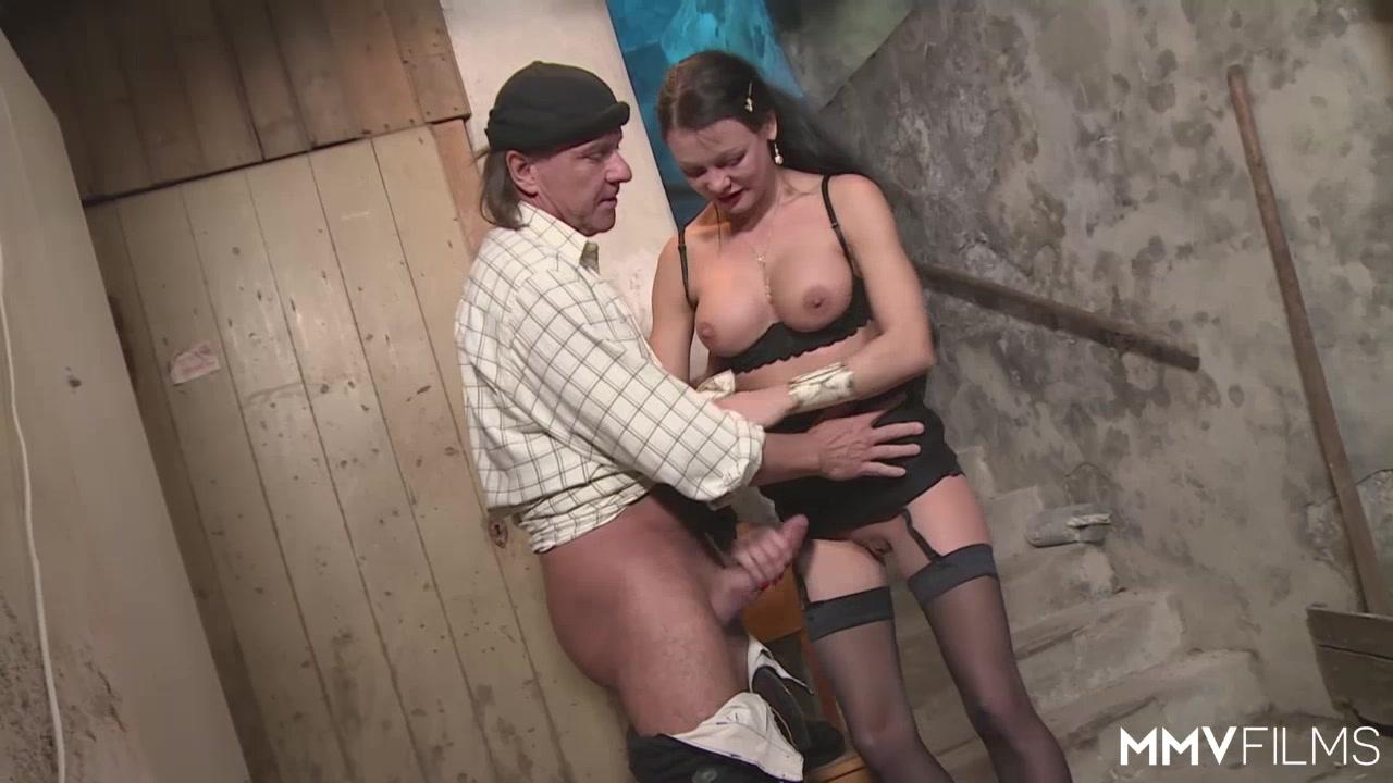 Porn Pics & Movies Mature big tits shows her bf
