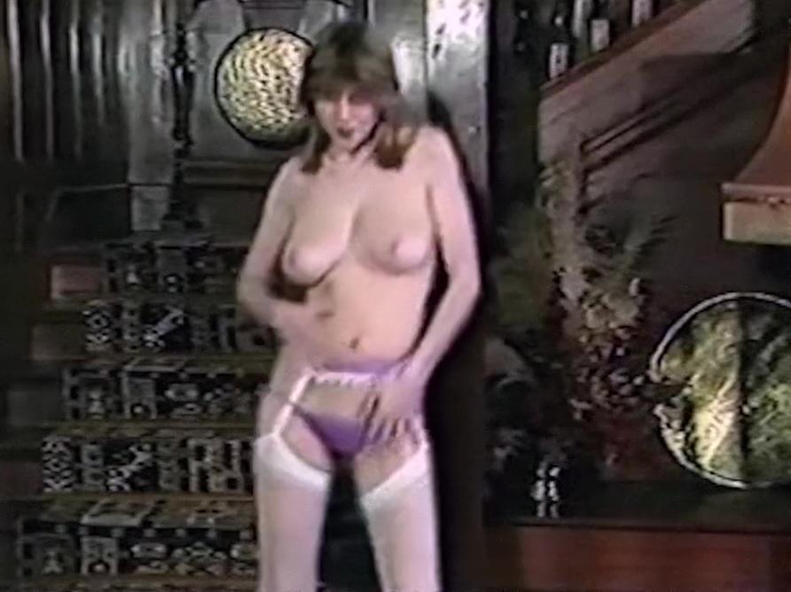 Im Turned On - vintage 80s British lingerie striptease 24 foot argosy airstream