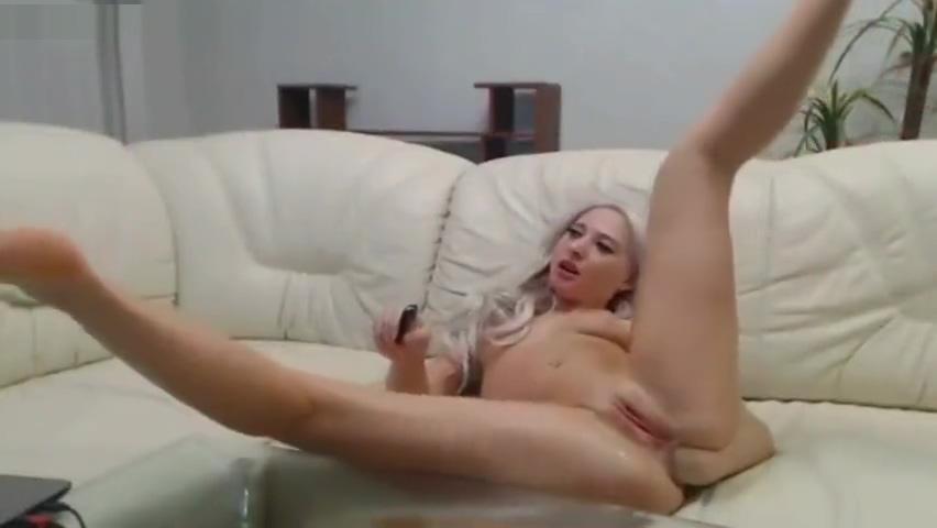 Blonde fists her ass deep Irish tranny