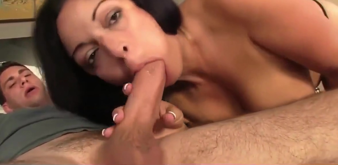 gorgeous busty milf swallows cum of her new roommate boy Best dating websit for singles over 50