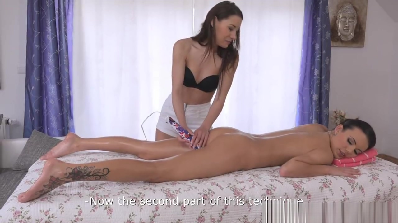 Massage, tickles and orgasm