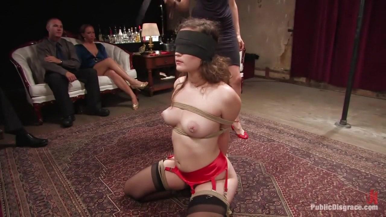 Porn pic Nipple tug of war