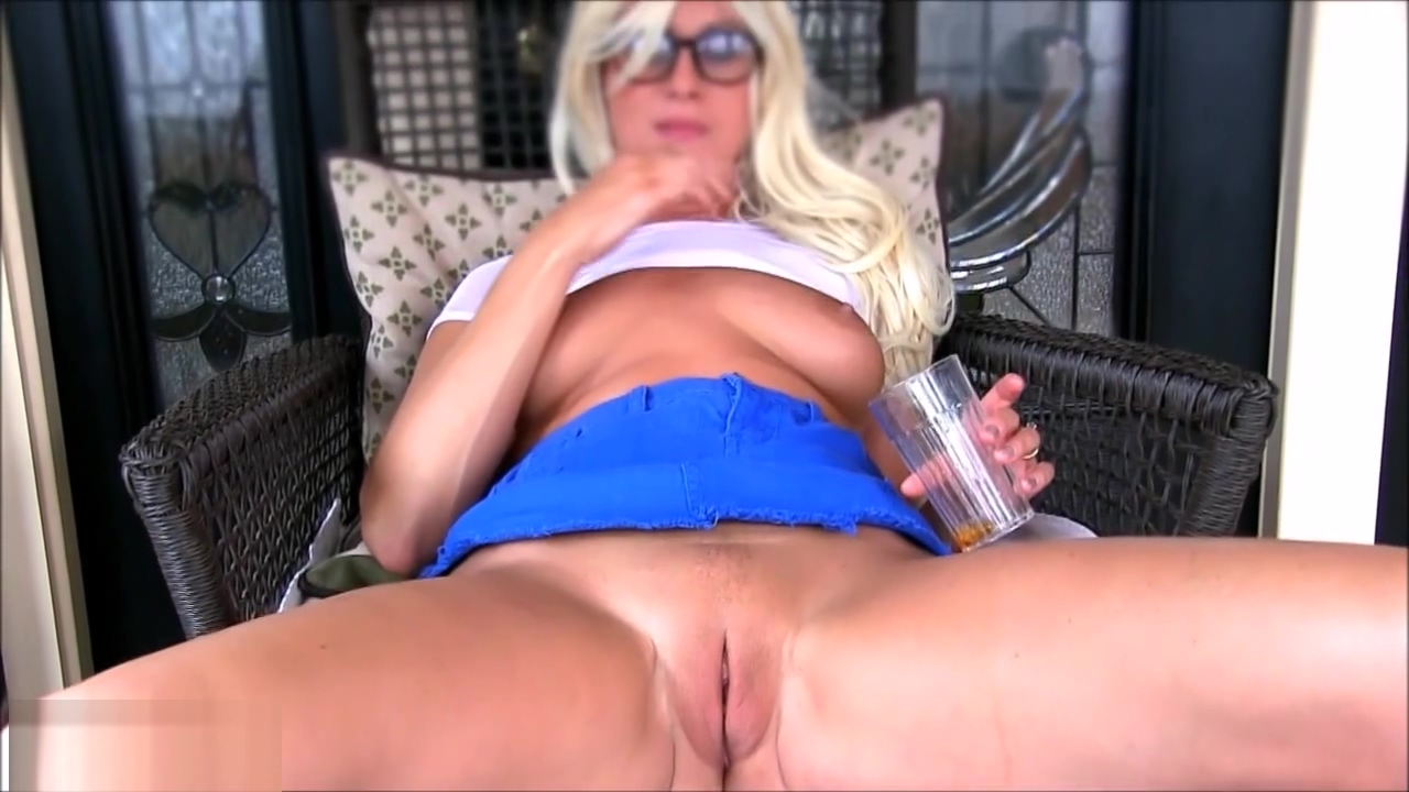 Girl in glasses drinks her own squirt cocktail taboo porn movie online