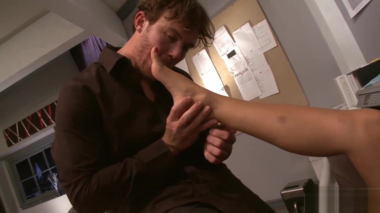 Secretary loves his hard raging boner