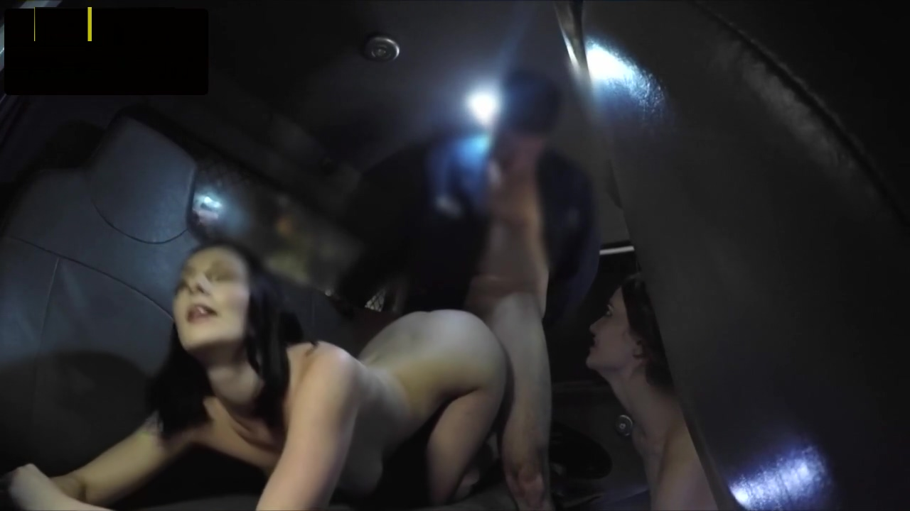 Cocksucking babe screwed by a truck driver