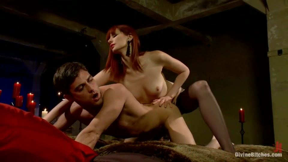 Gorgeous sub pussytoyed by dominatrix Sex photo