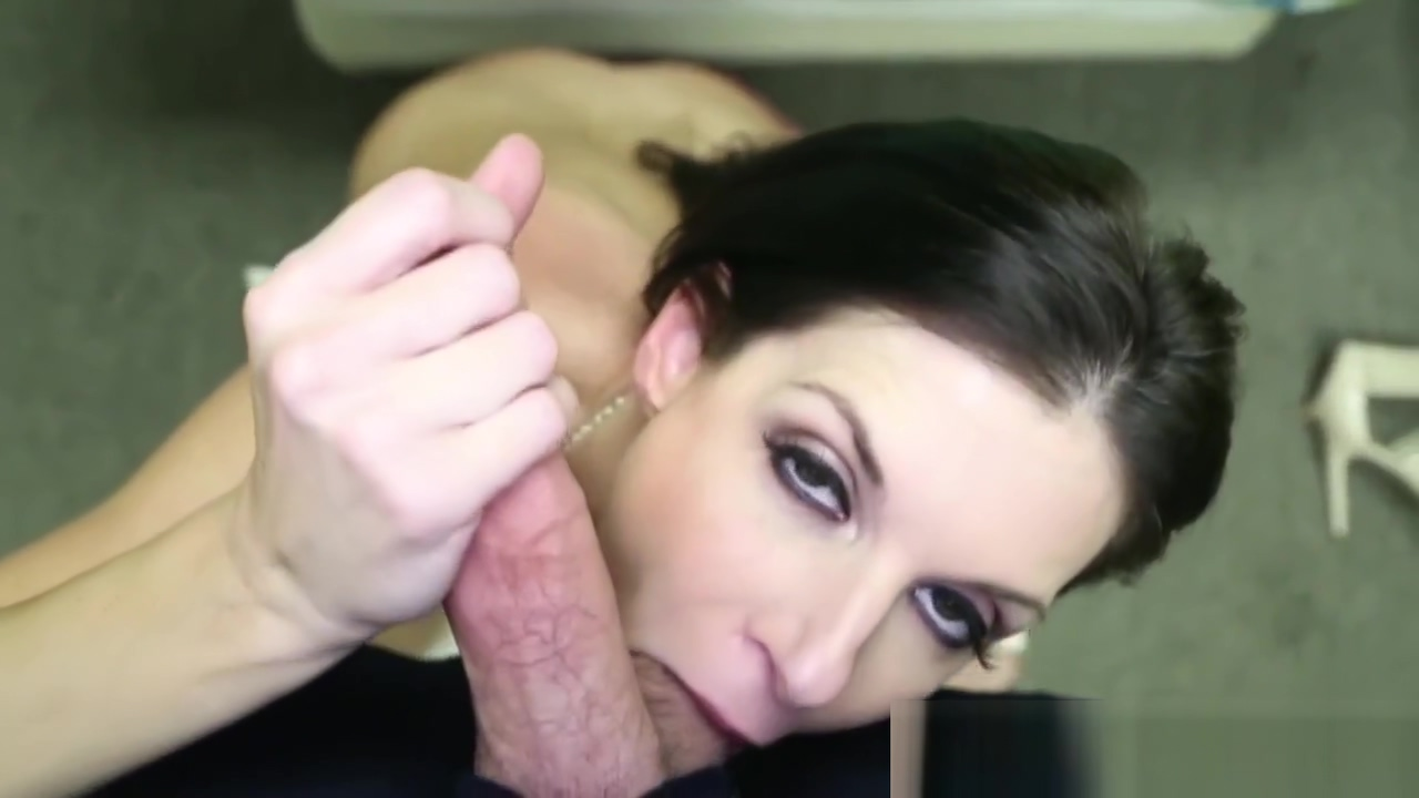 Gorgeous milf jerking cock in pov Eat her hot feet