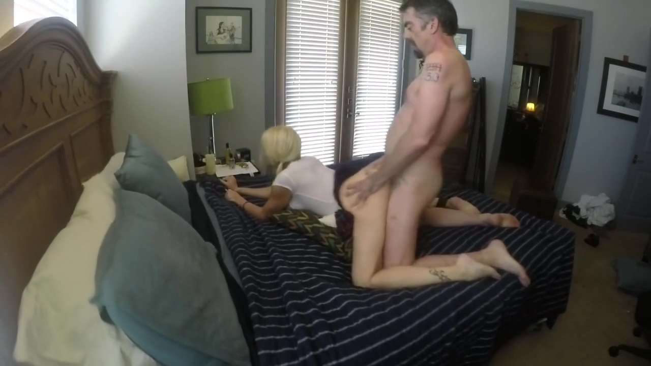 Naughty Schoolgirl Getting Pounded