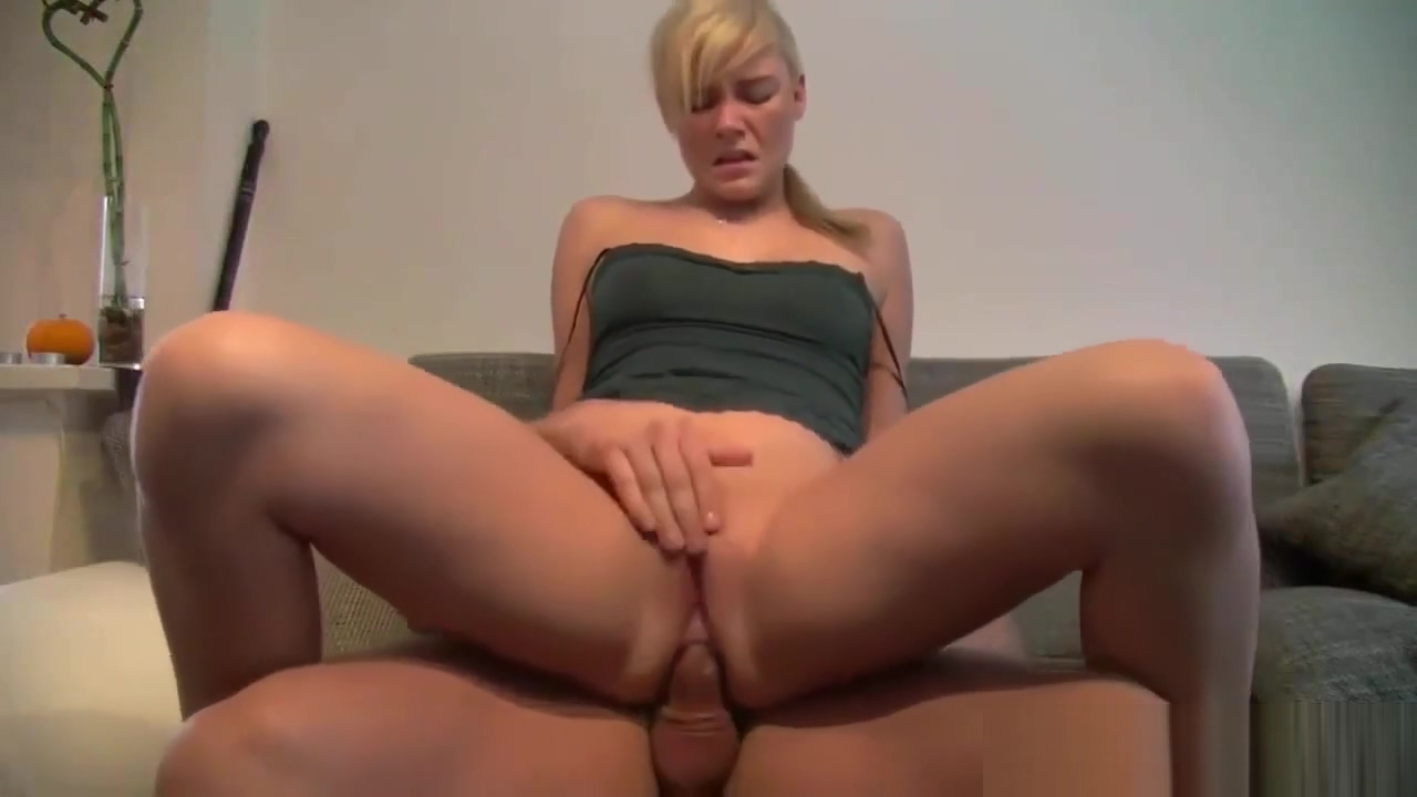 First Time Anal Fuck For Hot Blonde Amateur