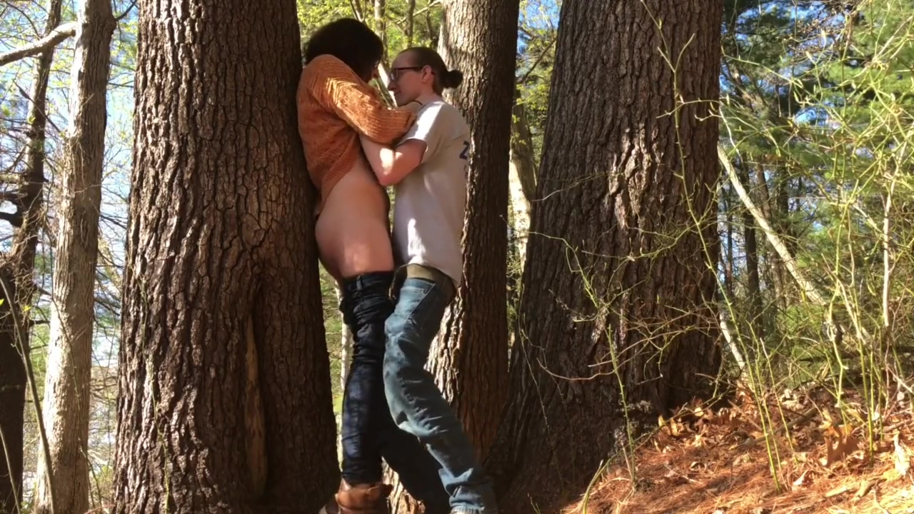 BaM: Skinny teen leads to public flash, blowjob, fuck in woods, cum on ass. Demi mawby nude pics