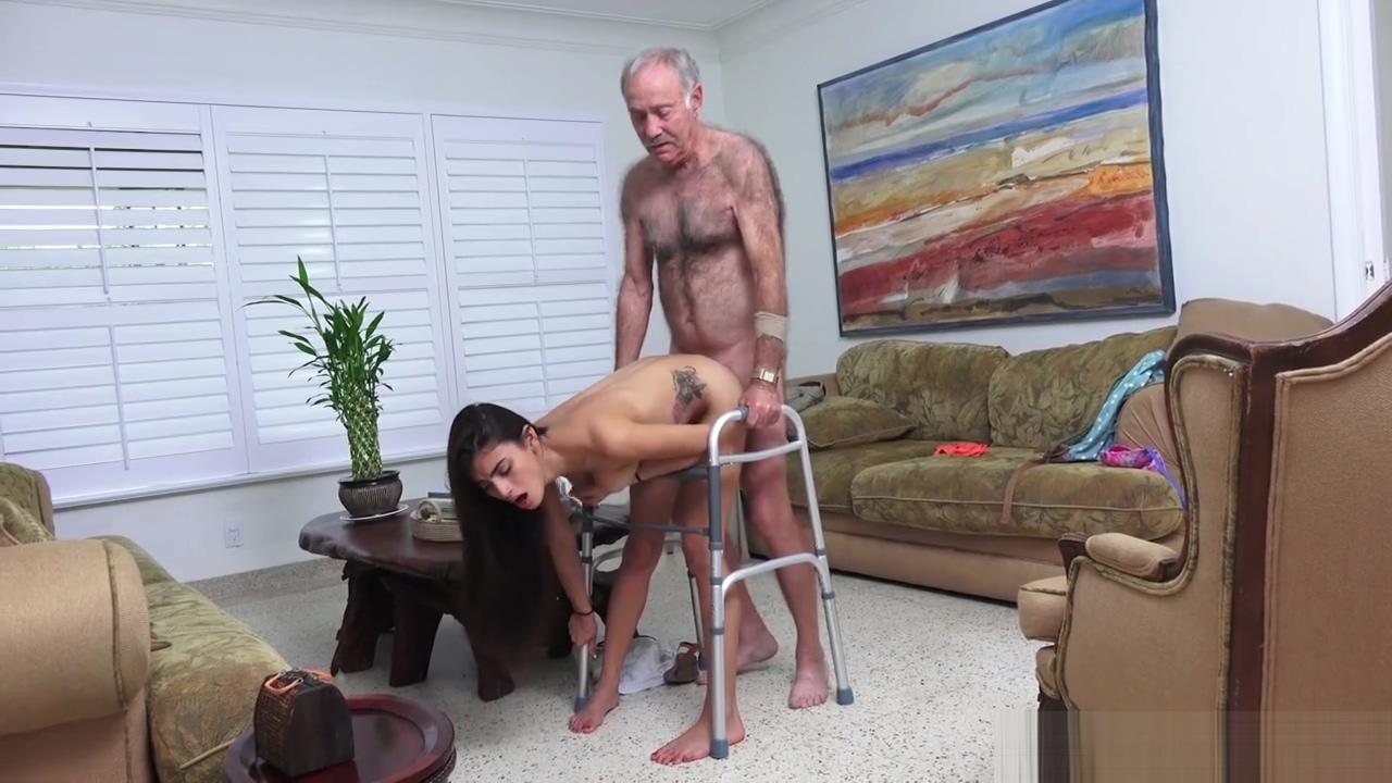 Old man fucks young girl on walker Chubby blonde big tits ex girlfriend