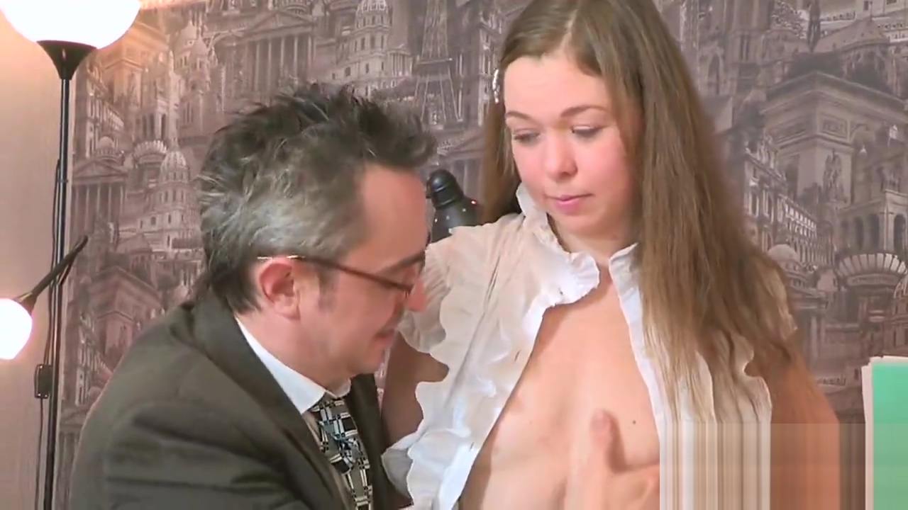 Sultry college girl is teased and penetrated by her older mentor Vampire orgasm video