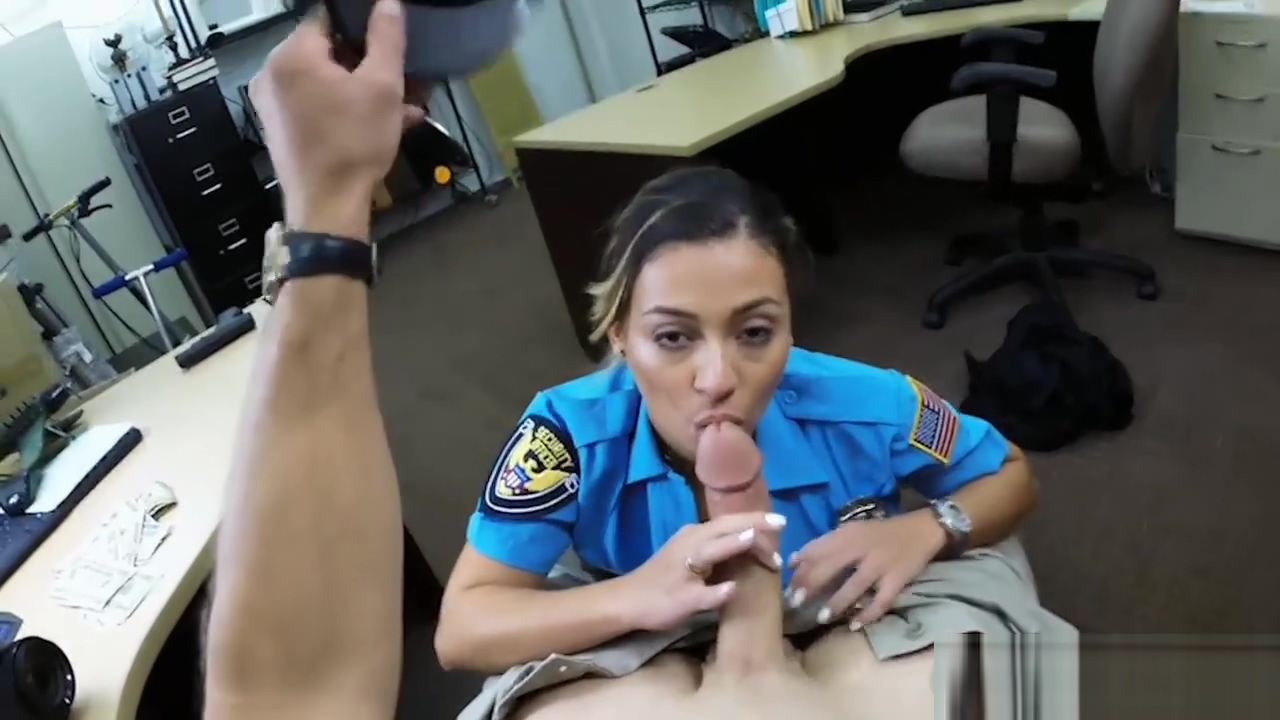 Horny busty officer banged by pawn man at the pawnshop Free Xxx Yang