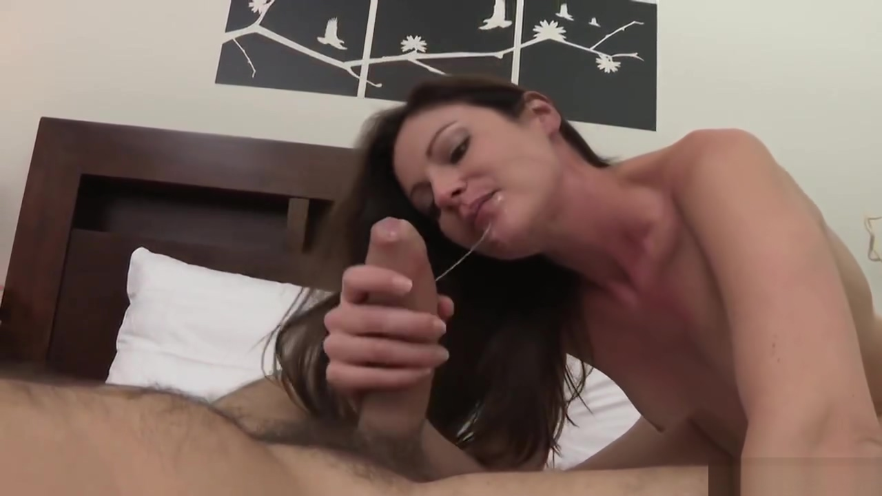 sexy horny woman sucks & fucks her lucky boyfriends huge cock on homemade video!!! Nice tits and balls