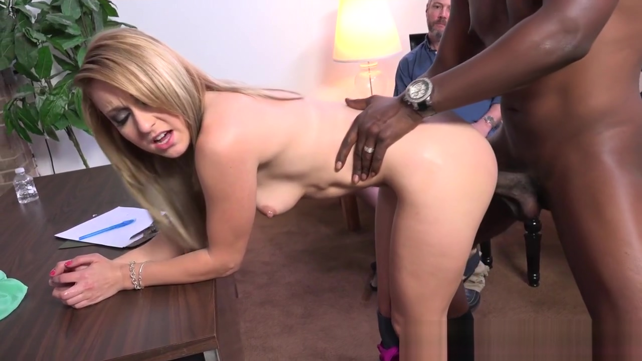 Wife rides black schlong full body naked massage