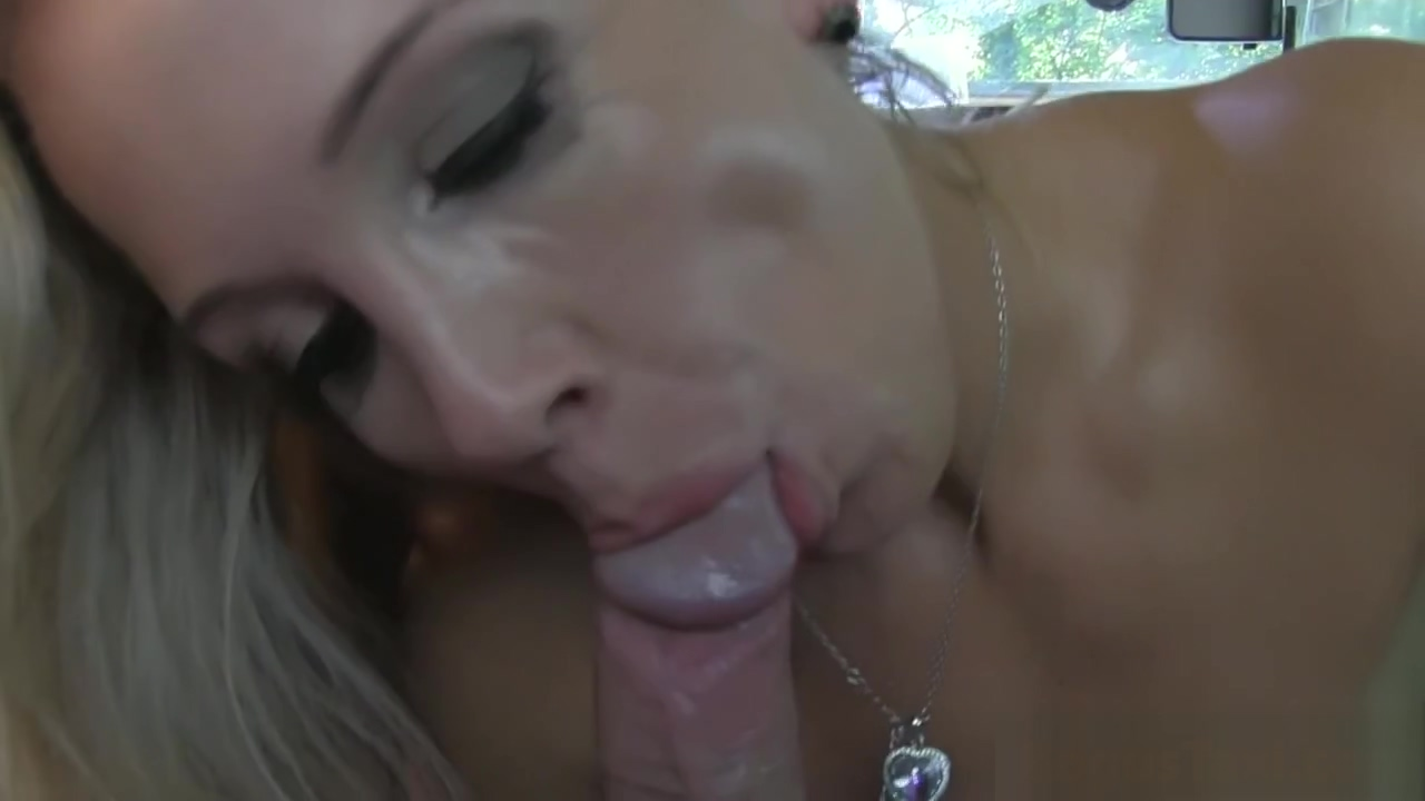 Busty milf titfucked and deepthroat in cab