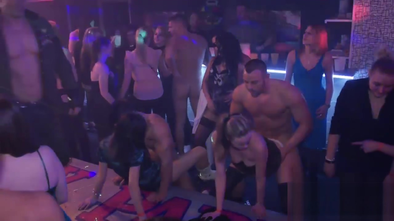 Foxy babes ride dicks in an orgy wife wants me to spank her