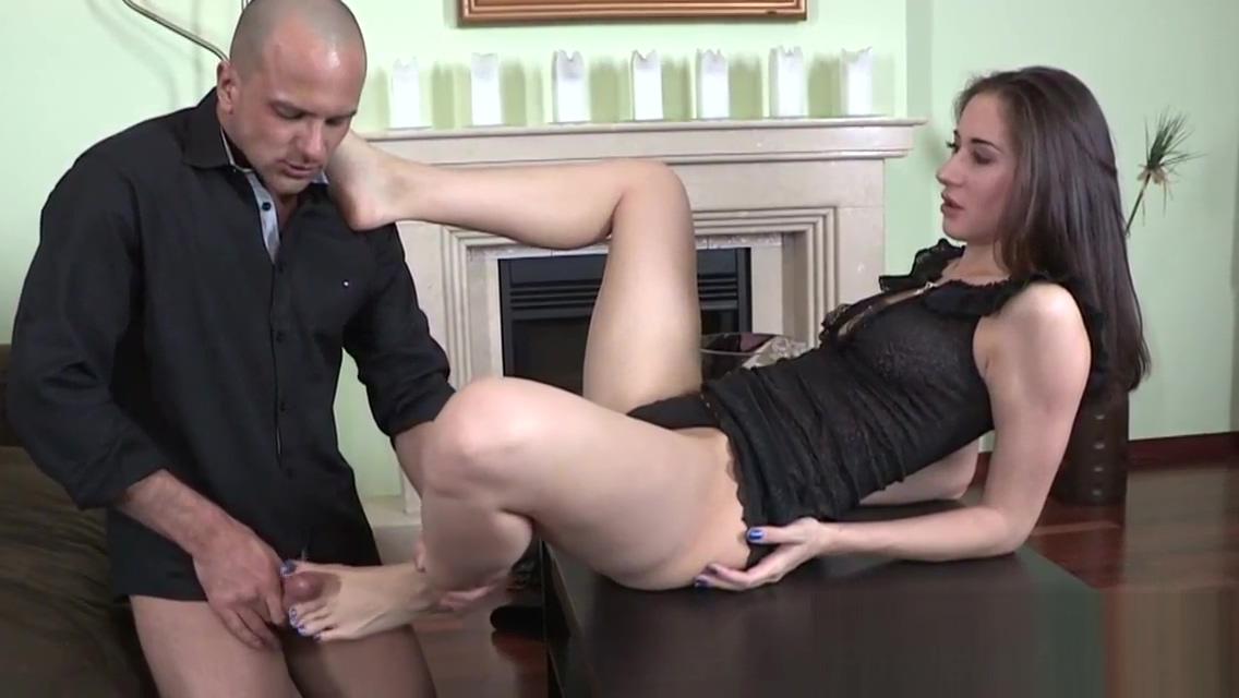 Teen foot fucks hard cock Jasmine Webb Pics