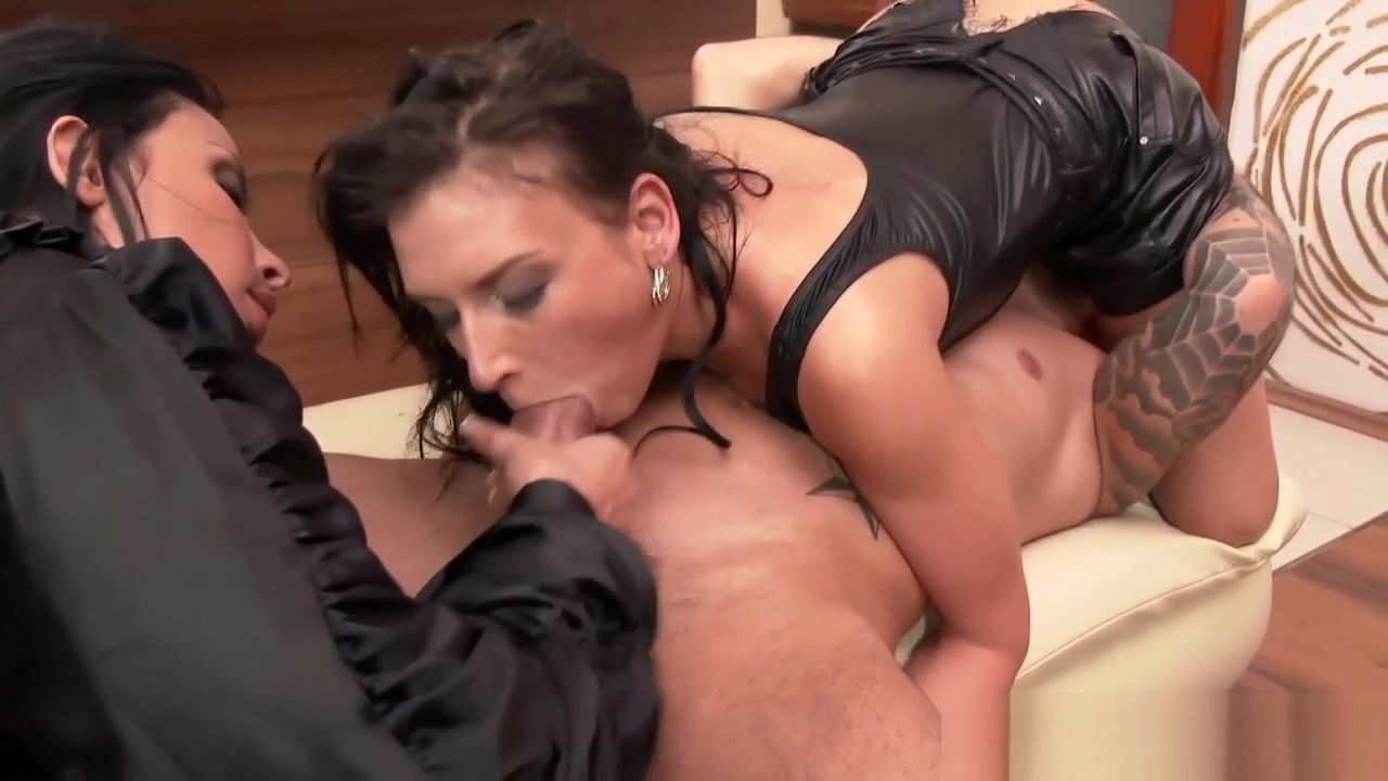 Anally pounded latex hos Cum In My Black Wife