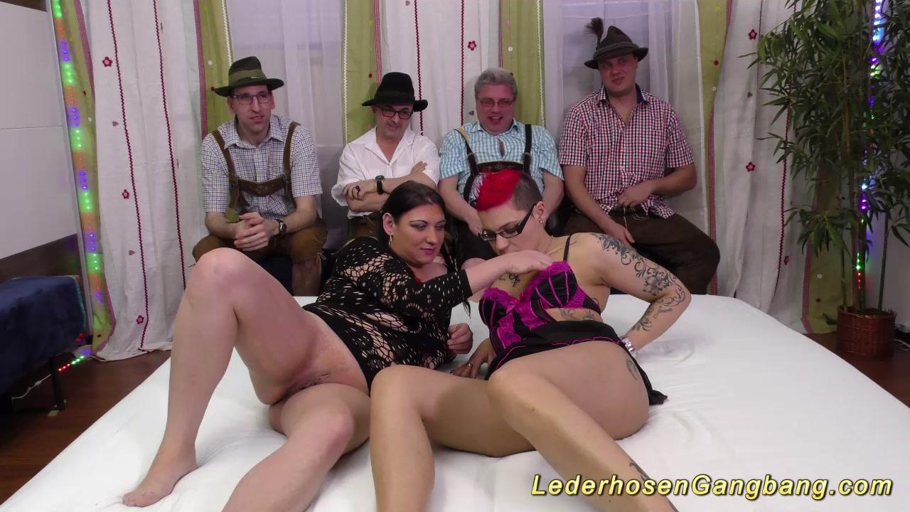 lederhosenganbang with extreme girls free weird sex clips