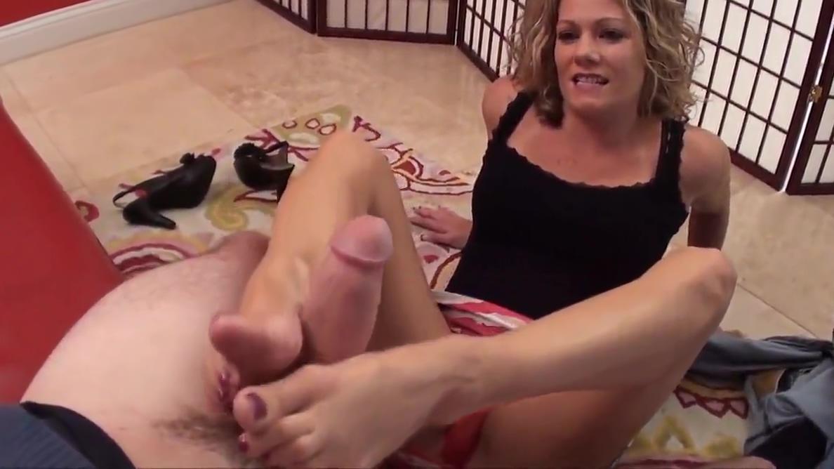 Mommy Footjob on Birthday