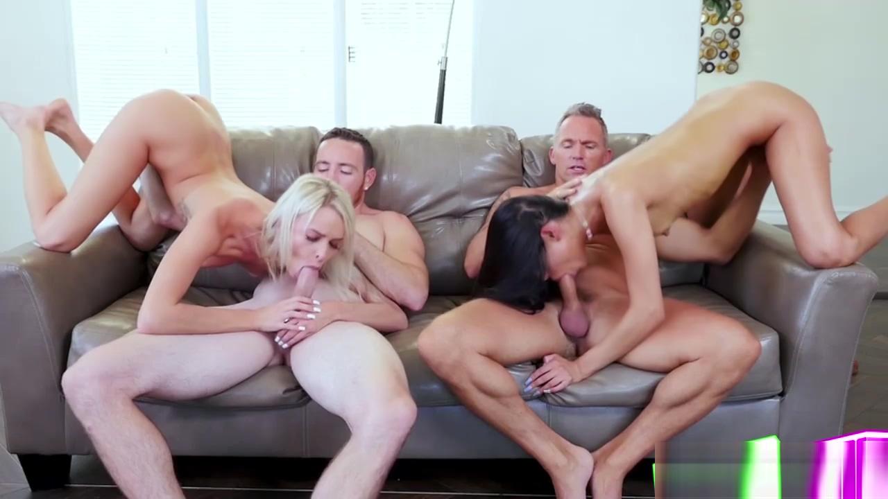 Emma Hix and Katya Rodriguez lay hard for glee Hot naked blondes giving blowjobs