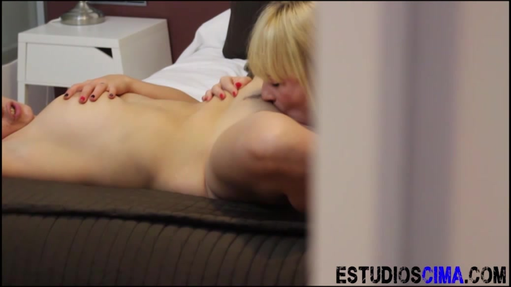In mouth cum tube her
