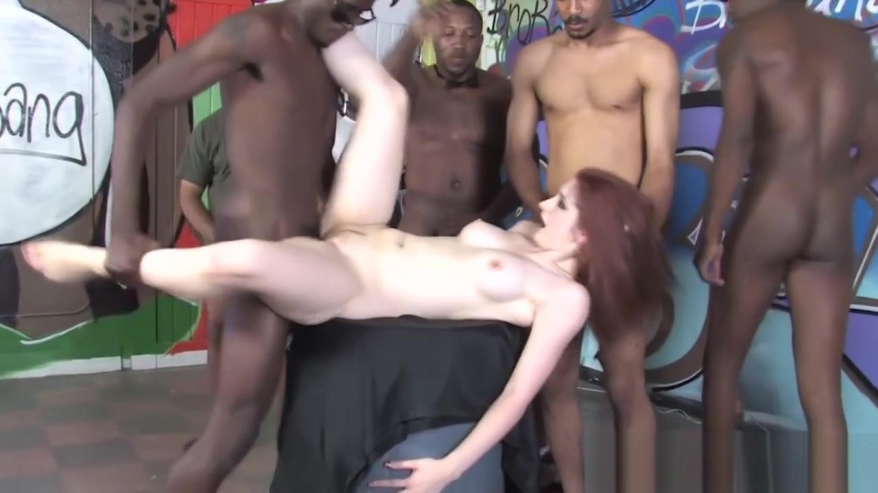 Interracial facial whore