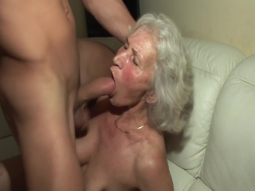 The first time he fucks a hot granny! Young and anal 27 scene Anal