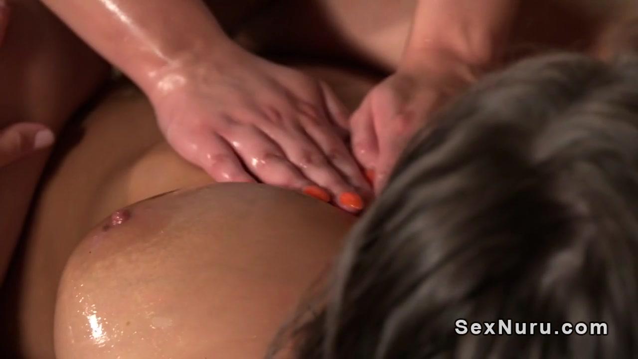 Creampie lesbea close masturbate