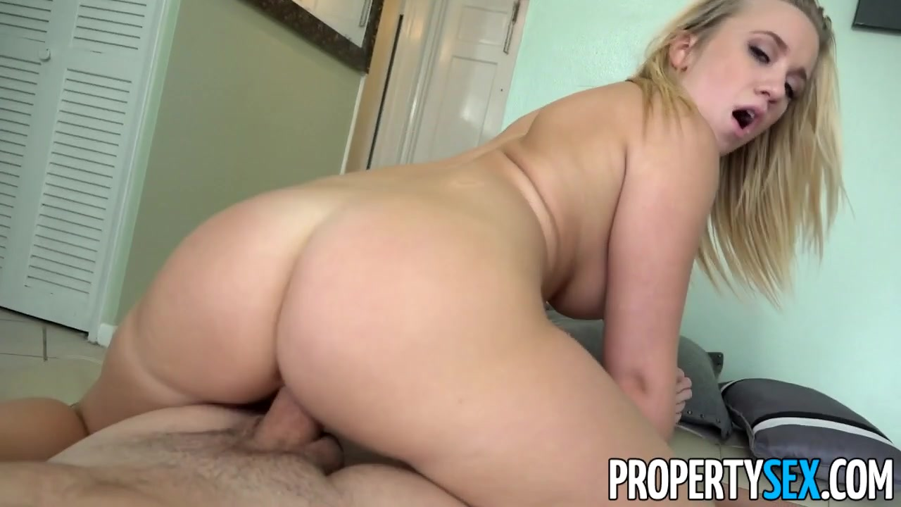 PropertySex Horny Blonde Cheats on Boyfriend With Real Estate Agent