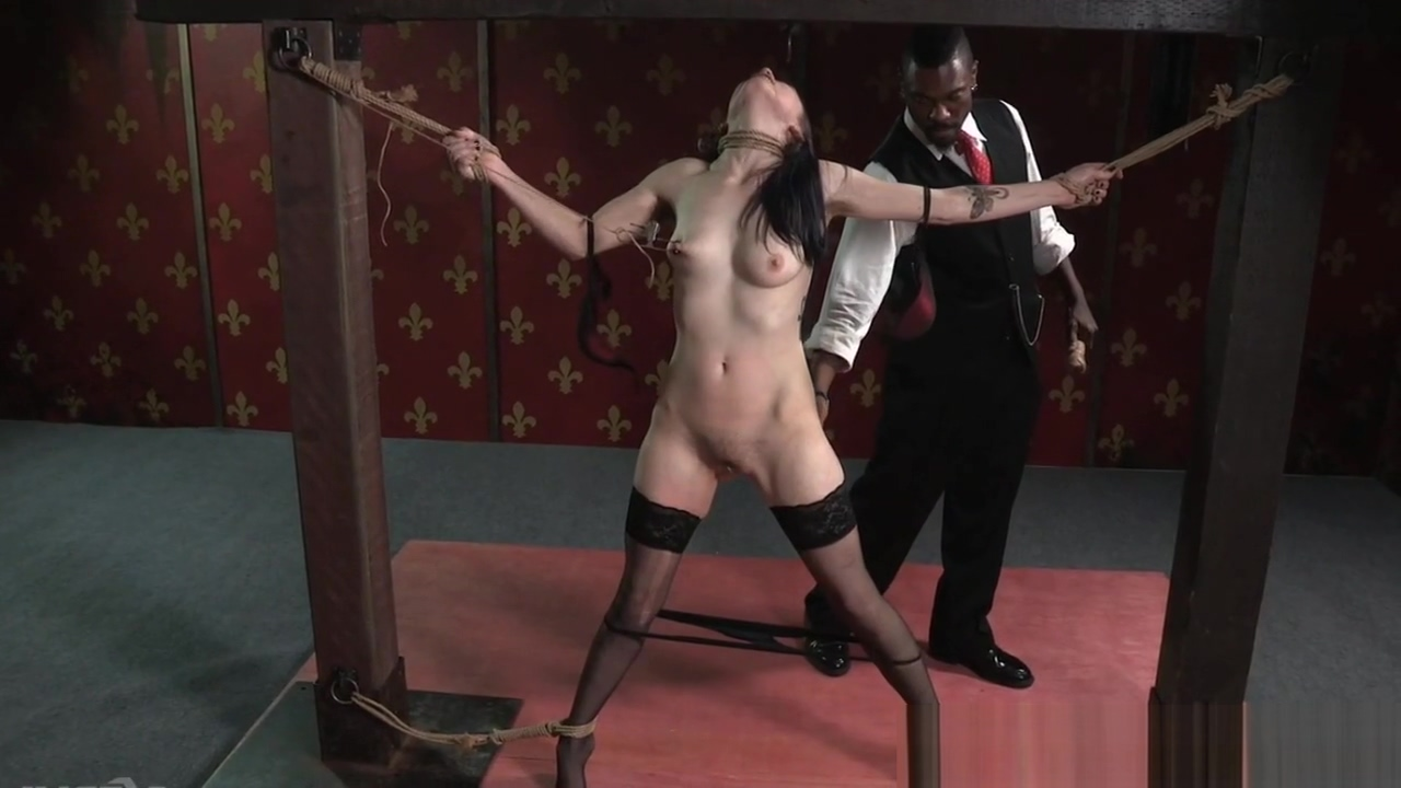 Gagged slave getting NT punished by master