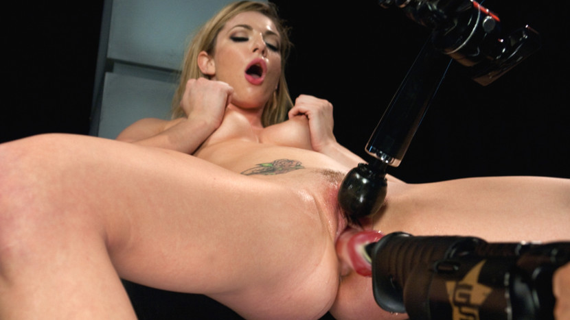 Exotic fetish xxx scene with best pornstar Dahlia Sky from Fuckingmachines