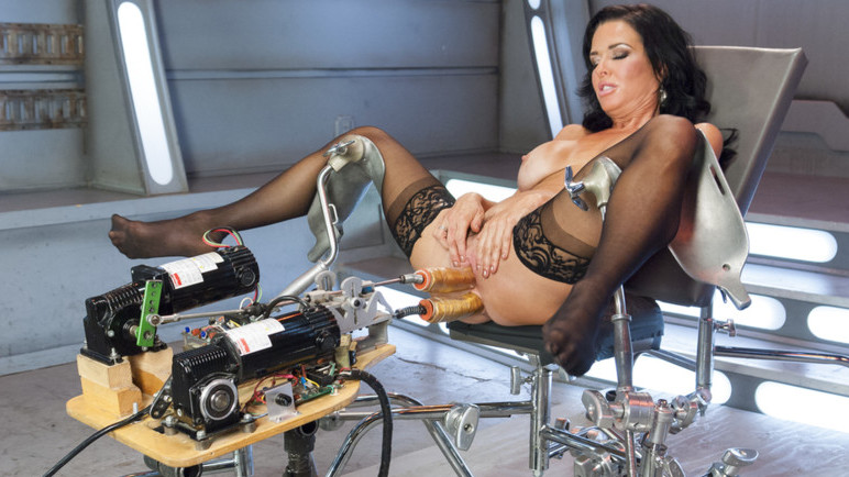 Incredible milf, fetish sex scene with best pornstar Veronica Avluv from Fuckingmachines free high quality nude