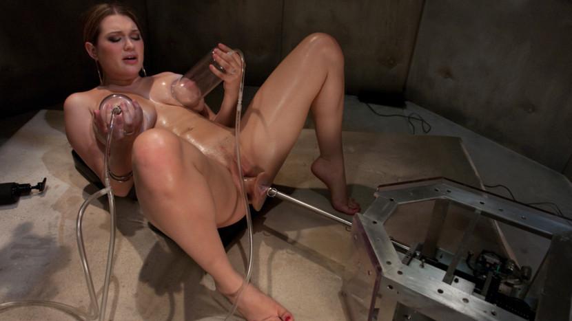 Best fetish sex movie with hottest pornstar Cassandra Calogera from Fuckingmachines
