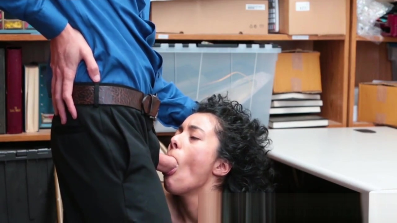 Perfect shoplifter fucked brittney skye threatened to blowjob