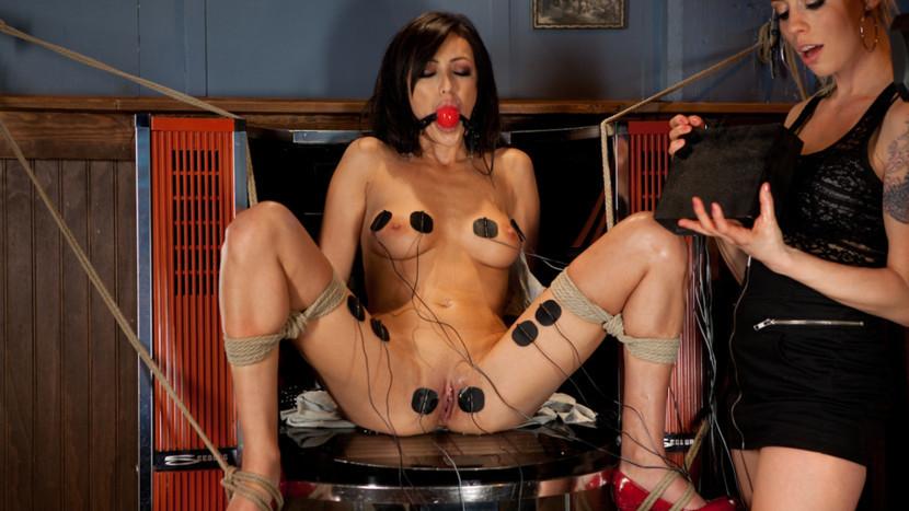 Incredible fetish sex video with horny pornstars Lorelei Lee and Breanne Benson from Wiredpussy Door to Door Midget Sex Freaks