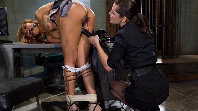 Exotic bdsm, lesbian porn scene with fabulous pornstars Bobbi Starr and Yasmine de Leon from Wiredpussy black crown vic gta sa mod