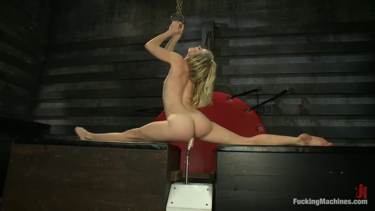 Exotic fetish, milf adult clip with best pornstar Bella Bends from Fuckingmachines naked yoga class video